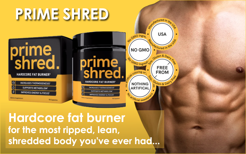 Primeshred ingredients